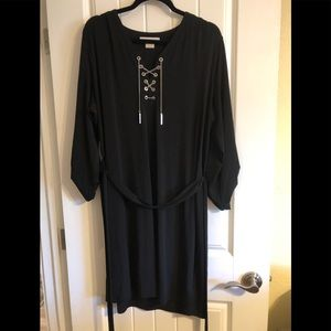 Michael Kors black tunic 2x